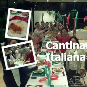 Jantar compartilhado cantina italiana master chef