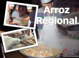 jantar compartilhado Arroz Regional master chef