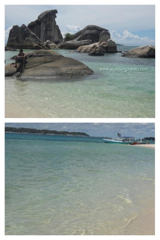 pulau burung mandi belitung 1