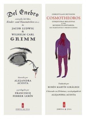 Alejandra Acosta ilustradora de Del enebro y Cosmotheoros