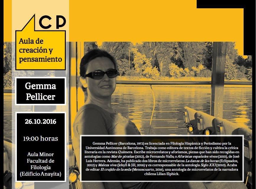 Gemma Pellicer en Salamanca