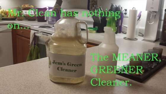 The MEANER, GREENER Cleaner at JEM's Eclectic Home