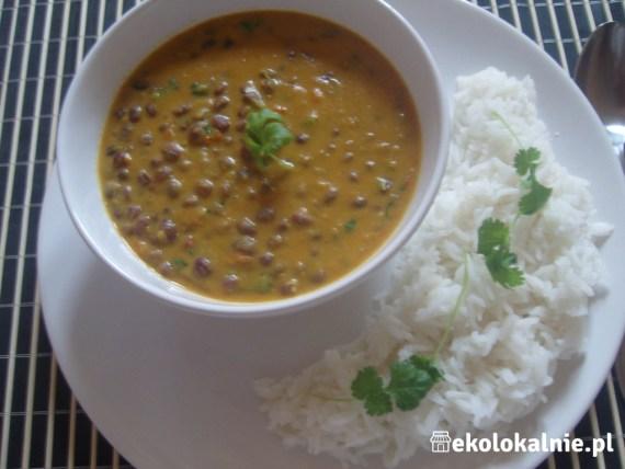Indyjskie curry z fasolki adzuki (azuki)