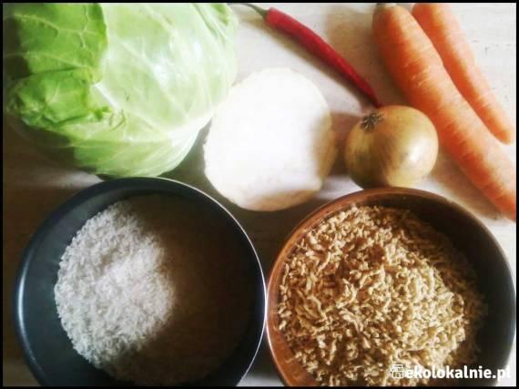 Gołąbki z warzywami