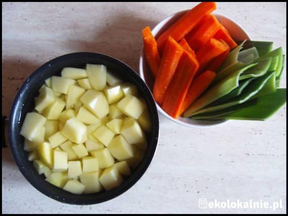 Grzybowa z ziemniakami