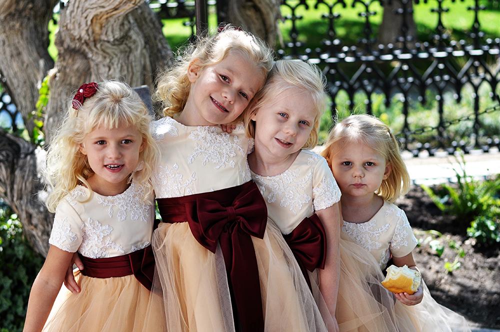 cutest flower girls ever!