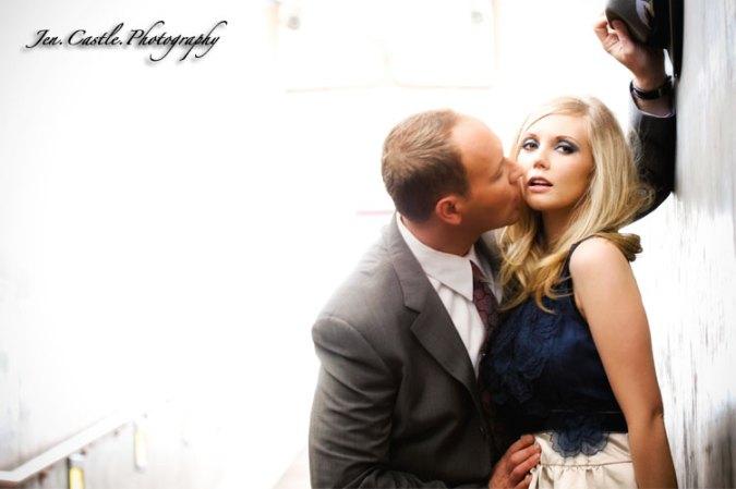 DTLA, Engagement Session, Jen Castle Photography, Los Angeles, Train Station, Union Station, vintage, wedding photography, Weddings