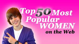 most popular women