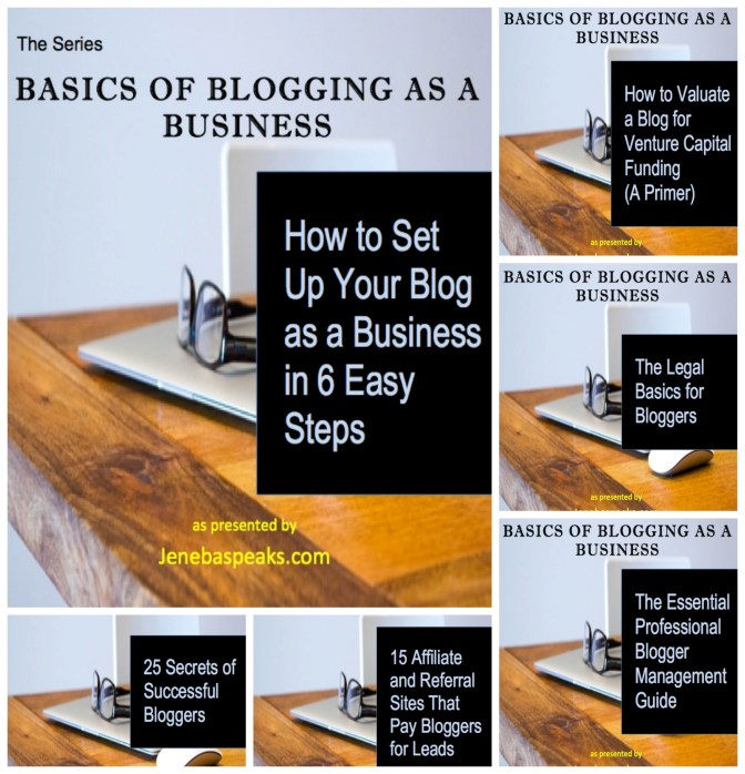blogging series