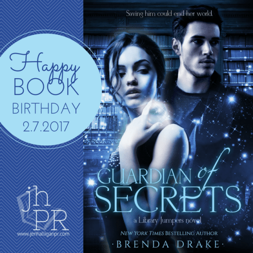 Guardian of Secrets by Brenda Drake | JenHalliganPR.com