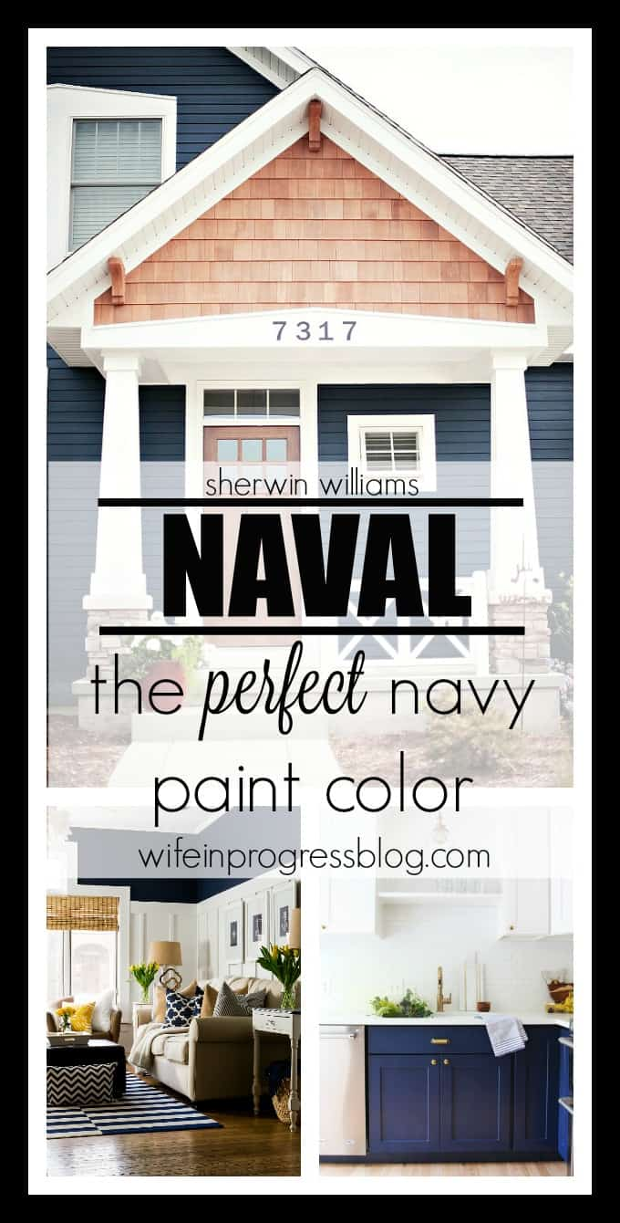 Gracious Your Sherwin Williams Navy Blue Paint Color Naval By Sherwin Williams Navy Blue Paint Color Everyroom Your Home Sherwin Williams Naval Benjamin Moore Equivalent Sherwin Williams Naval Accent houzz-03 Sherwin Williams Naval