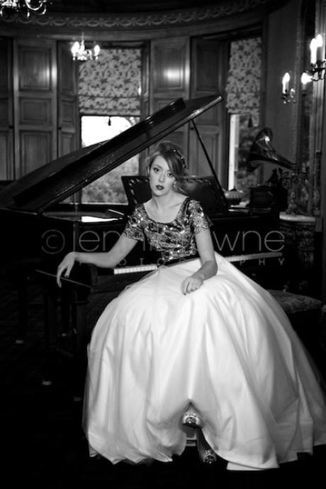 bridal photo shoot, knock castle 32