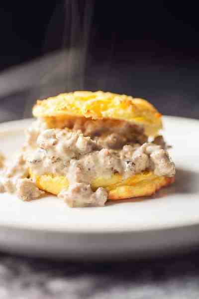 Low Carb Biscuits and Gravy • Low Carb with Jennifer
