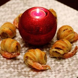 Shrimp in Puff Pastry