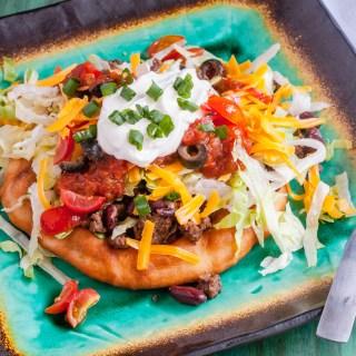 Indian Fry Bread Tacos | Jennifer Cooks