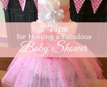 7 Tips for hosting a fabulous baby shower from Jenniferdecorates.com