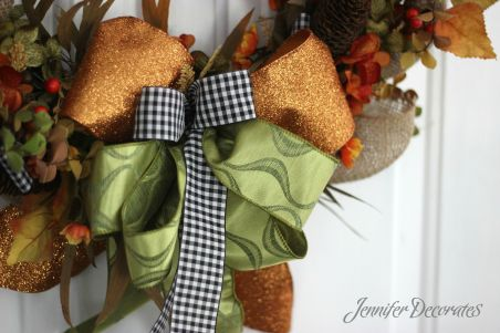Fall wreath ideas from Jennifer Decorates