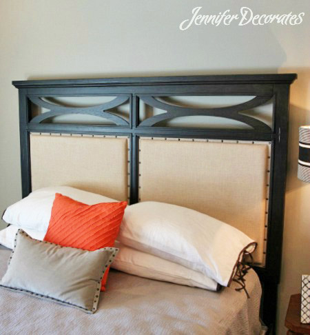 Headboard Ideas from Jenniferdecorates.com