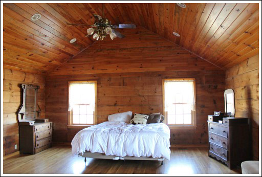 cabin ceiling ideas - Log Home Decorating Ideas Before and After s