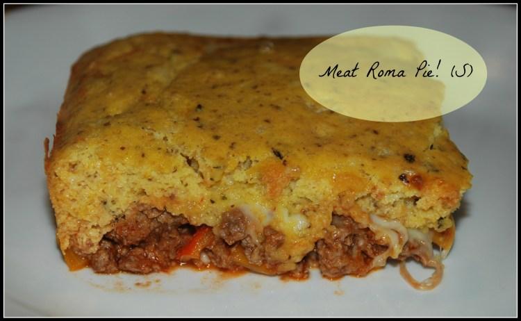 Meat Roma Pie! (S)