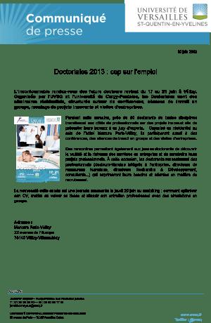 cp-doctoriales-2013-cap-sur-l-emploi
