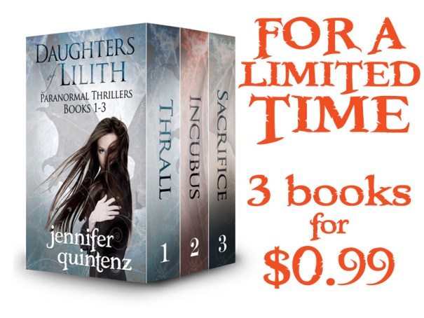 """Daughters of Lilith"" Books 1-3 LIMITED TIME $0.99"