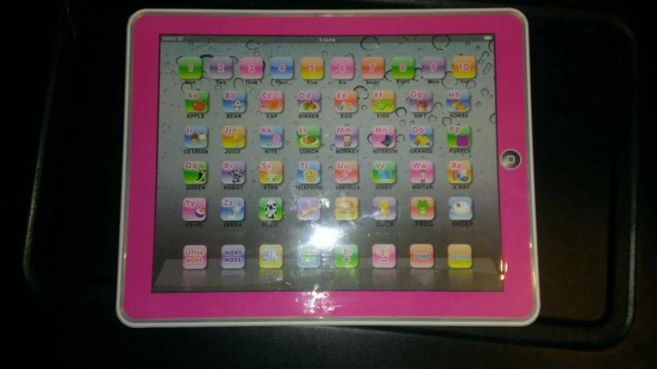 children's pink learning tablet Children's Learning Tablet Review - Great  Learning Tool for Young Kids