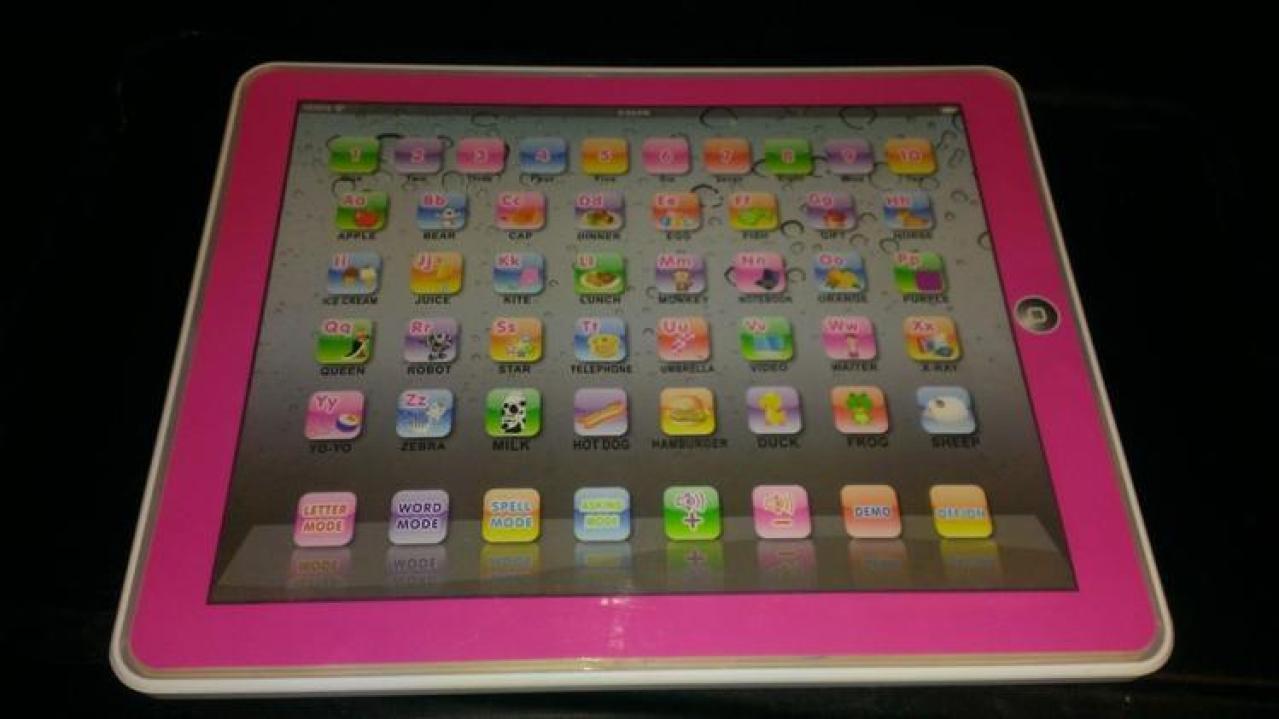 children's pink learning tablet Children's Learning Tablet Review - Great  Learning Tool for Young Kids
