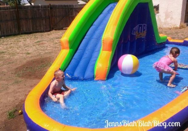 Summer Fun HydroRush Waterpark  Fun for the Whole Family! HydroRush Inflatable Waterpark Rocks Summer Fun HydroRush Waterpark
