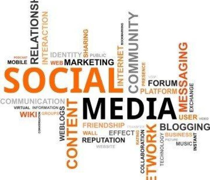 Blogging  11 Common Mistakes Bloggers Make  Kozzi word cloud social media 361 X 359