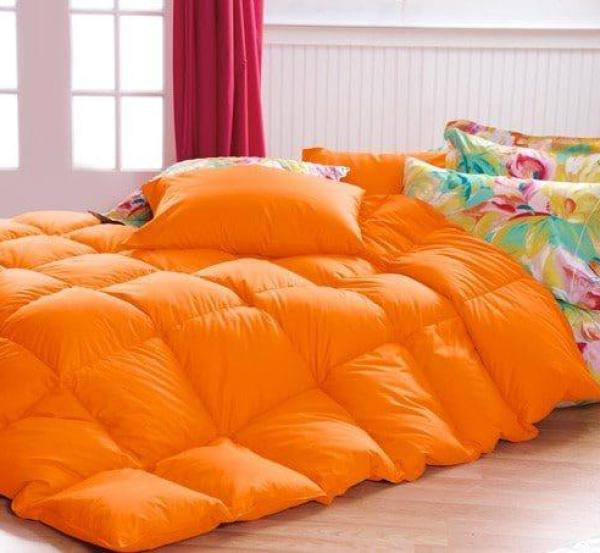 Orange Bedspread Cuddledowns, Vibrant Bedspreads and Comforters   OH MY!