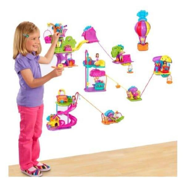polly pocket tree house An Affordable Kids Toy That Promotes Kids To Use Their Imagination