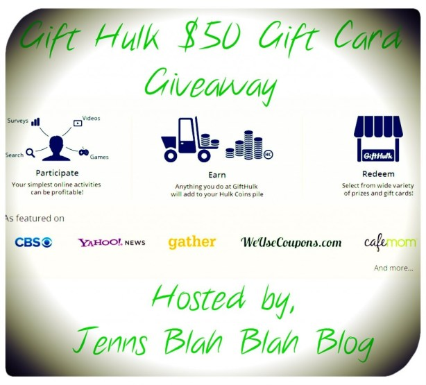 Gift Hulk $50 Giveaway  Enter To #Win $50 Gift Card of Your Choice From Gift Hulk Gift Hulk 50 Giveaway1