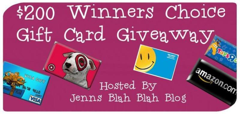 200 Gift Card Giveaway For September Enter to #Win a $200 Gift Card of Your Choice!