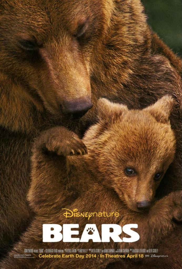 Disneys Bears 692x1024 Disneynature Bears Trailer Don't Miss the Heartwarming Sneak Peek