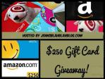 Jenns Blah Blah Blog $250 Gift Card Giveaway