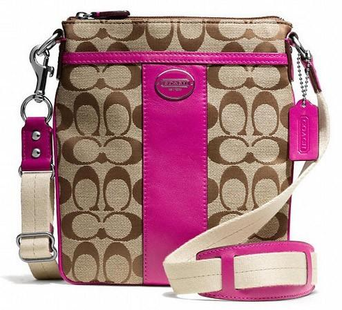 BU grand prize1 #Giveaway: Enter To #Win A Coach Signature Swingpack