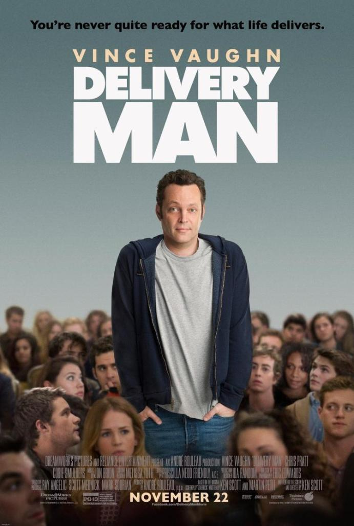 DM 1 Sheet v3 sm 691x1024 DreamWorks Pictures' DELIVERY MAN Official PosterDreamWorks Picture #ThorDarkWorldEvent #DeliveryManEvent