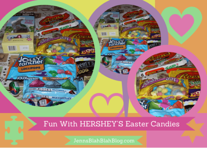 Fun With HERSHEY'S Easter Candies  #BunnyTrail Easter Ideas: Fun Easter Basket Ideas For Kids Fun With HERSHEY   S Easter Candies