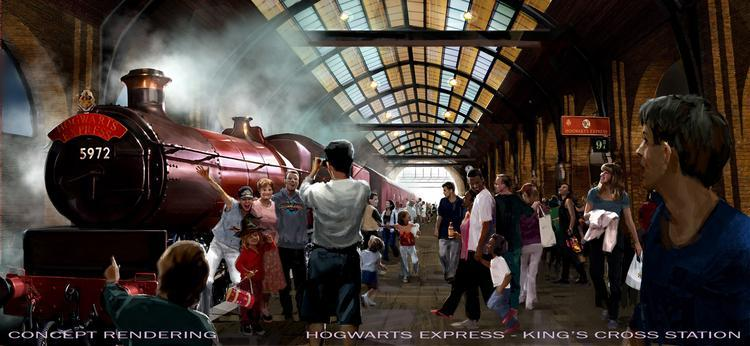 Universal Orlando Harry Potter Diagon Alley King's Cross Station   Universal Orlando Wizarding World of Harry Potter – Diagon Alley #UniversalOrlando Kings Cross Station