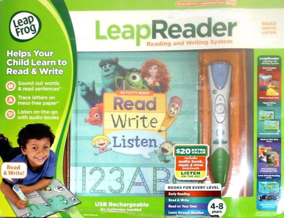 LeapFrog  Love LeapFrog, Check Out The #LeapReader Reading & Writing System