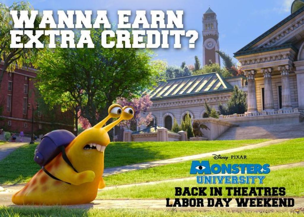 MU FB EXTRACREDIT 002 1024x731 Watch Monsters University This Labor Day Weekend!