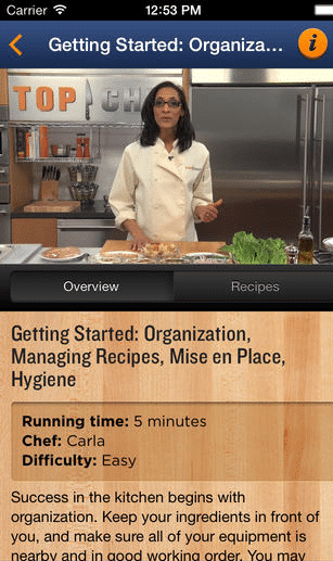 Top Chefs cooking app  Cooking App To Teach You To Cook Like A Pro: Top Chef University To-Go Top Chefs cooking app