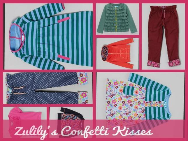 Zulily Confetti Kisses for toddlers pants, shirts, dresses that can be mixed and matched  Confetti Kisses From Zulily Is Totally Worth Dancing For! #GiftGuide ZulilyConfetti Kisse