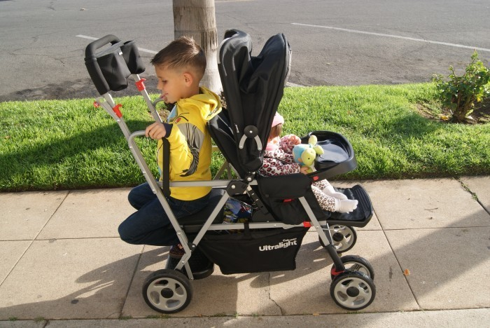 stroller for two kids Life Is so much Easier With The Joovy Caboose Ultralight!!