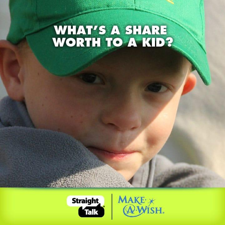 help a kids wish come true Make Kids Dreams Reality, One Minute One Million for Make A Wish