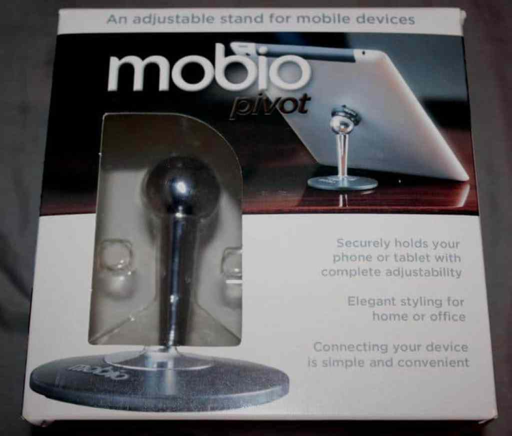 mobio pivot1 1024x873 Adjustable Stand For Tablets and Mobile Devices Saves The Day!