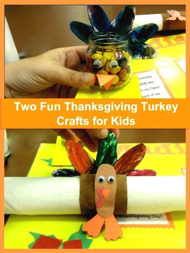 two fun thanksgiving turkey crafts for kids  2 Fun #Thanksgiving Turkey Craft for Kids! two fun thanksgiving turkey crafts for kids
