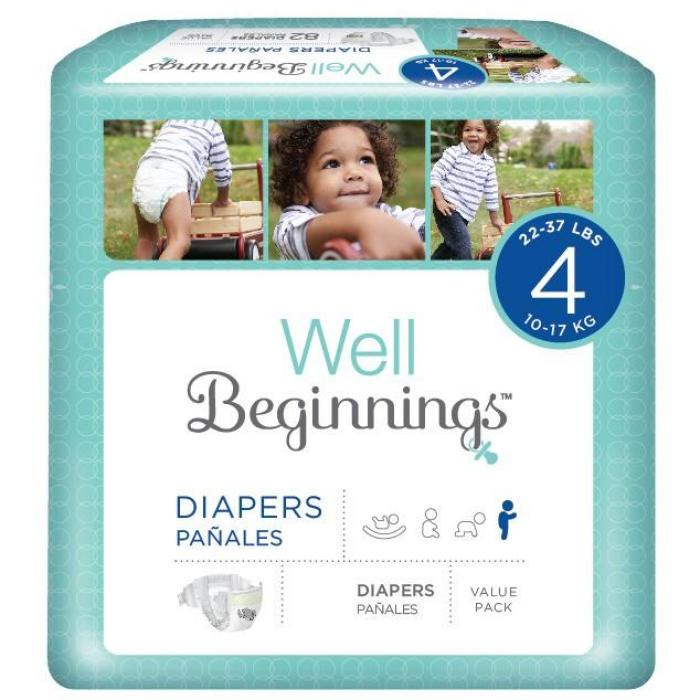 Well Beginnings disposable diapers from walgreens Things I Look For When Choosing Disposable Diapers For My Active Girls