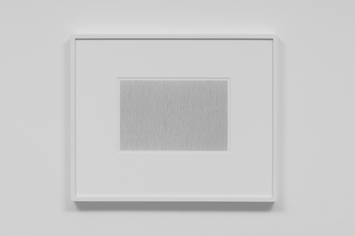 Carter Seddon - Canvas, 2015, archival inkjet print, 11 ¾ x 14 ½ inches framed